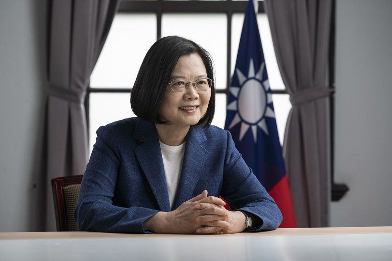 President Tsai addresses Copenhagen Democracy Summit via video Photos - New Southbound Policy