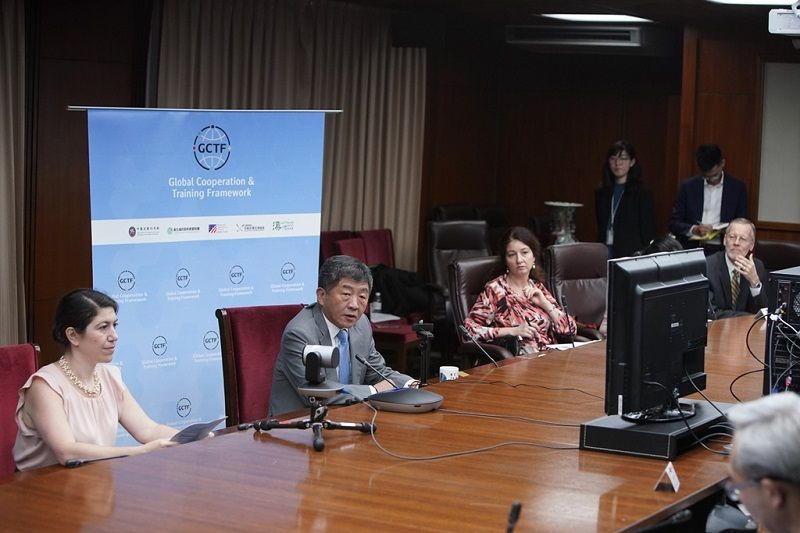 Taiwan, Australia, Japan, US stage GCTF online workshop Photos - New Southbound Policy