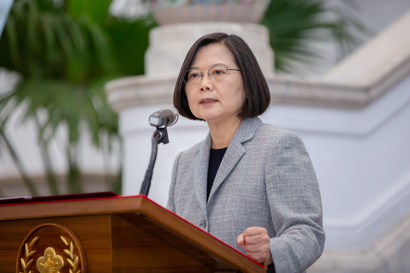 President Tsai's address on COVID-19 cooperation Photos - New Southbound Policy