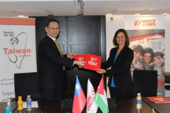 Taiwan to support Syrian refugee girls in Jordan with US$250,000 donation