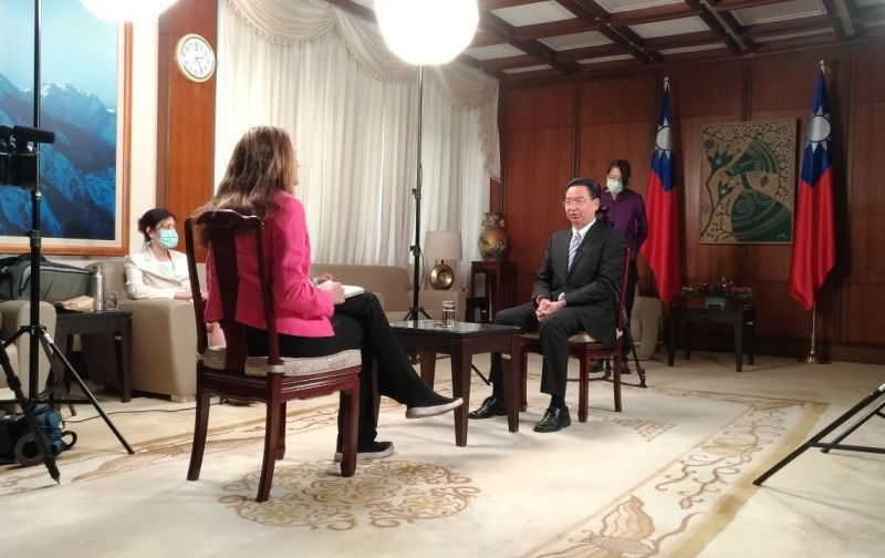 MOFA Minister Wu discusses Taiwan-US relations in CNN interview[open another page]