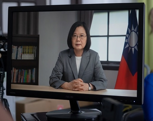 President Tsai addresses Taiwan's diplomatic, security, and economic challenges at videoconference jointly sponsored by US-based think tanks Photos - New Southbound Policy
