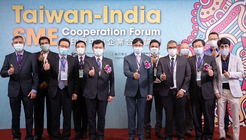 Taiwan-India SME Cooperation Forum Creates Innovative Business Opportunities Photos - New Southbound Policy