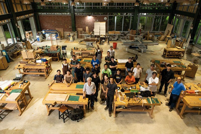 Reimagining the Home with Wood: HDG-NEWS, Taiwan's Most Beautiful Woodworking School Photos - New Southbound Policy