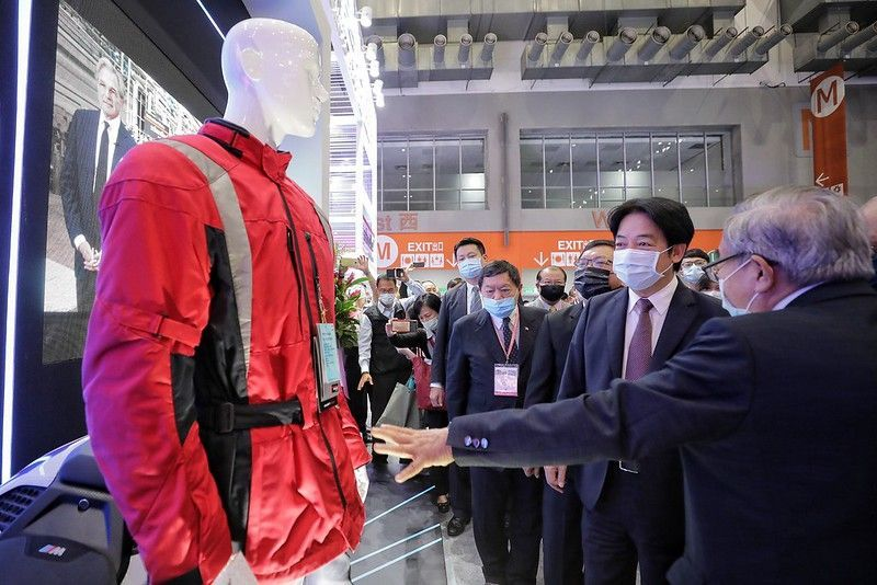 Taiwan textile show gets underway in Taipei Photos - New Southbound Policy