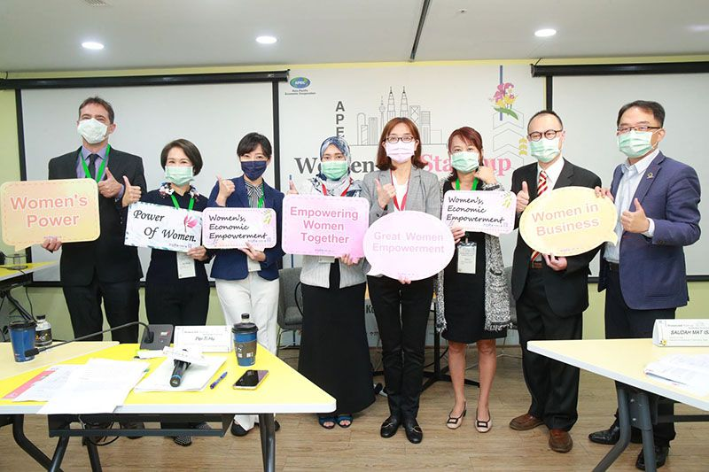 Chinese Taipei and Malaysia Mitigate Pandemic Challenge by Hosting Virtual Workshop to Accelerate Women Entrepreneurship Push for a better future amidst the pandemic Photos - New Southbound Policy