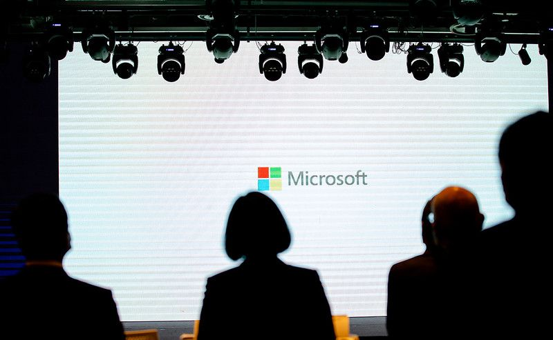 President Tsai attends Microsoft's announcement of investment in Taiwan press conference Photos - New Southbound Policy