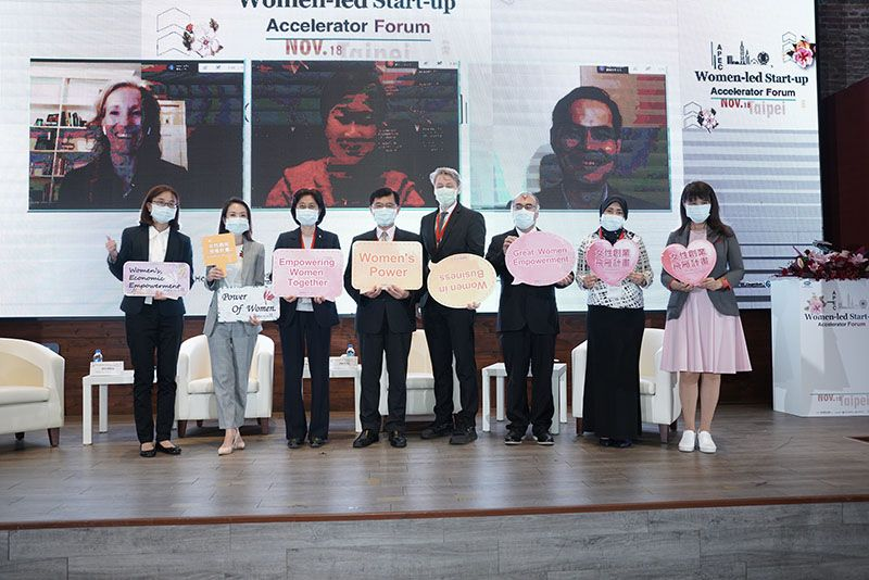 Grand Finale of Global Women Empowerment Initiative Hosted in Taipei Photos - New Southbound Policy