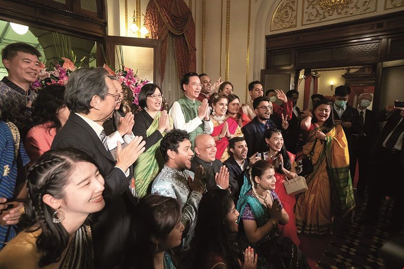 An Indian New Year Celebration: Marking the Friendship Between Taiwan and India Photos - New Southbound Policy