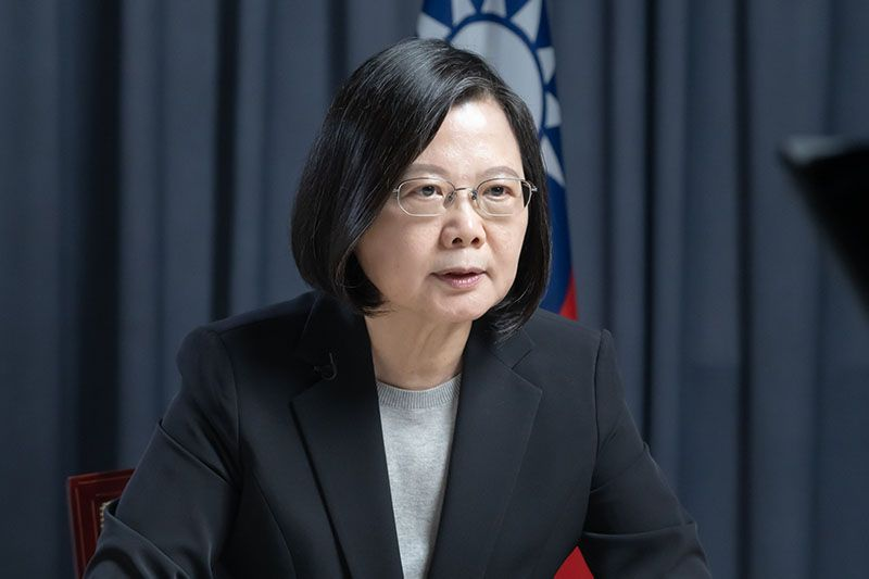 President Tsai receives International Pioneer Award for Leadership and delivers video speech Photos - New Southbound Policy