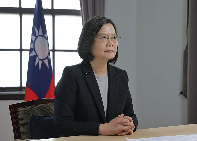 President Tsai addresses 2020 Asia Democracy and Human Rights Award ceremony via video Photos - New Southbound Policy