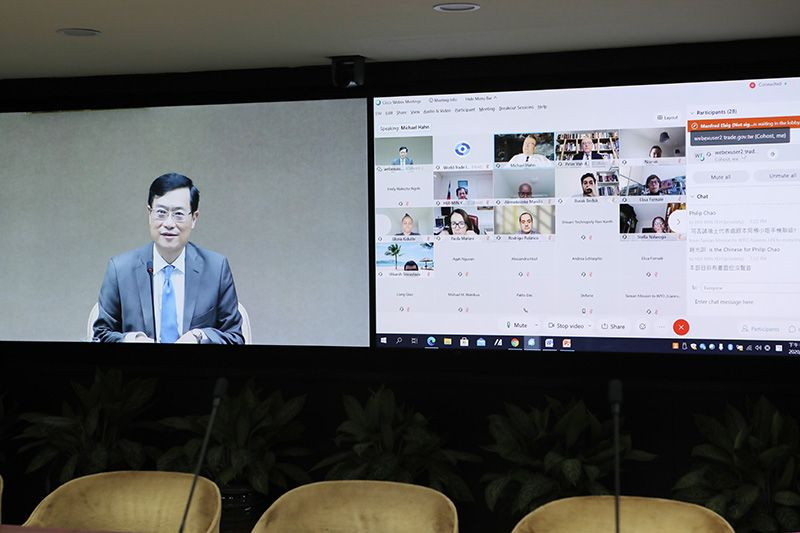 MOEA Deputy Minister Attends Global Economic Governance Seminar and Shares Taiwan's Strategies for Developing Economy and Trade Photos - New Southbound Policy