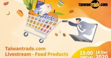 2020 Food Taipei Mega Shows: Taiwantrade.com Livestream - Leisure Food Products Photos - New Southbound Policy