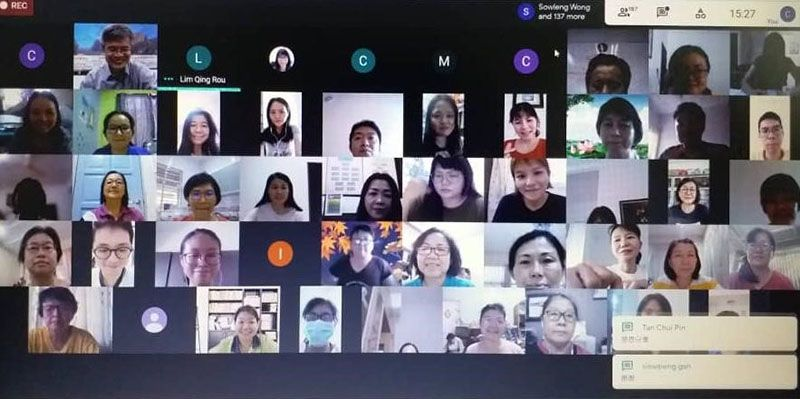Educators' Physical and Mental Health Webinar in Malaysia Promotes Positive Strategies for Coping with Pressure from the Pandemic Photos - New Southbound Policy