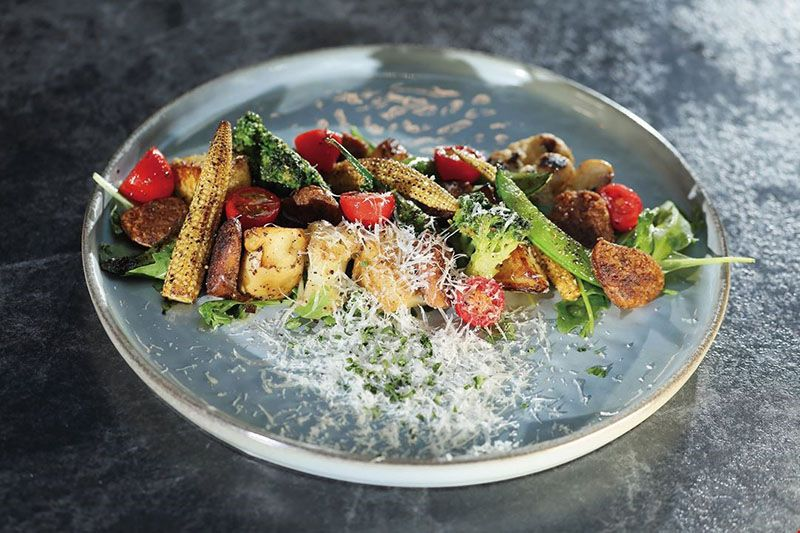 Fine Dining Beyond Meat—Fashionable Vegetarian Restaurants Photos - New Southbound Policy