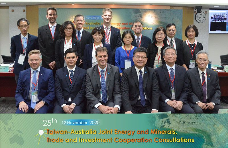 The MoU on Cooperation within the Area of Energy and Minerals Renewed at the 25th Taiwan-Australia Joint Energy and Minerals, Trade and Investment Cooperation Consultations Photos - New Southbound Policy