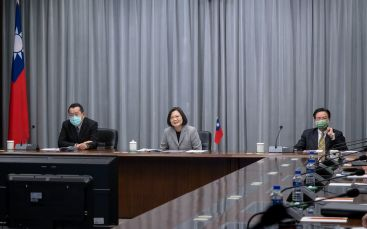 President Tsai holds video call with US ambassador to UN