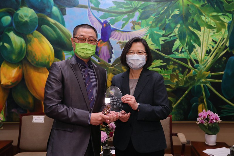 President Tsai vows to make Taiwan integral part of green global supply chains[open another page]