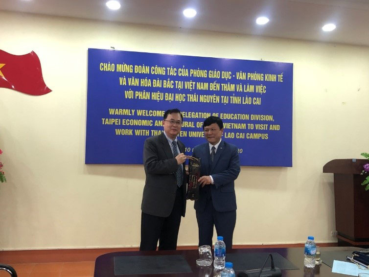 TECO in Vietnam visits Thai Nguyen University - Lao Cai Campus Photos - New Southbound Policy