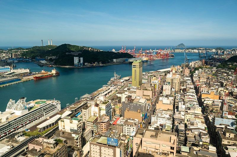Re-created Historic Sites Capture Keelung's Stormy History Photos - New Southbound Policy