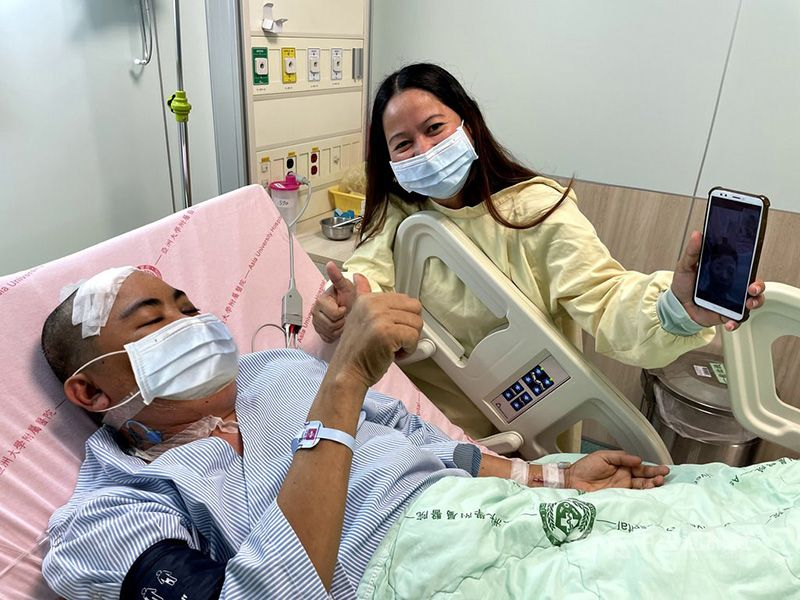 Philippine official thanks Taiwan after successful surgery on national Photos - New Southbound Policy