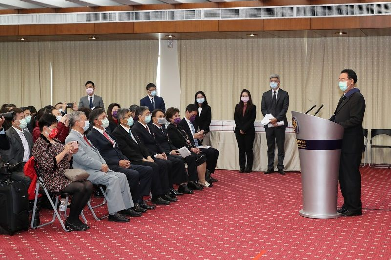 Taiwan hospitals, medical professionals awarded MOFA Friend of Foreign Service Medal Photos - New Southbound Policy
