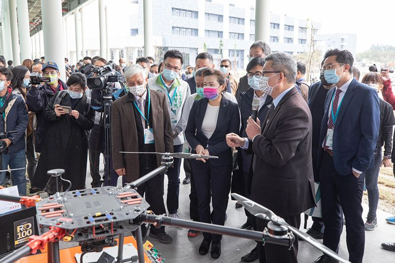 Transforming Kaohsiung into Pivotal Offshore Wind Power Talent Incubation Hub: Completion and Opening Ceremony of the Maritime Technology Innovation Center Photos - New Southbound Policy