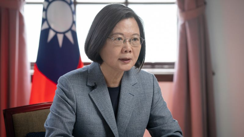 President Tsai wins John McCain Prize for Leadership in Public Service[open another page]