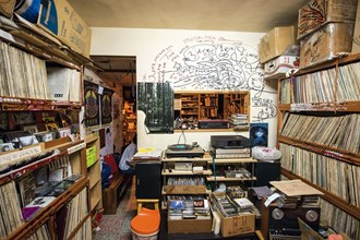 Tucked away in a back alley near National Taiwan Normal University, Vinyl Depot offers a treasure trove of music.