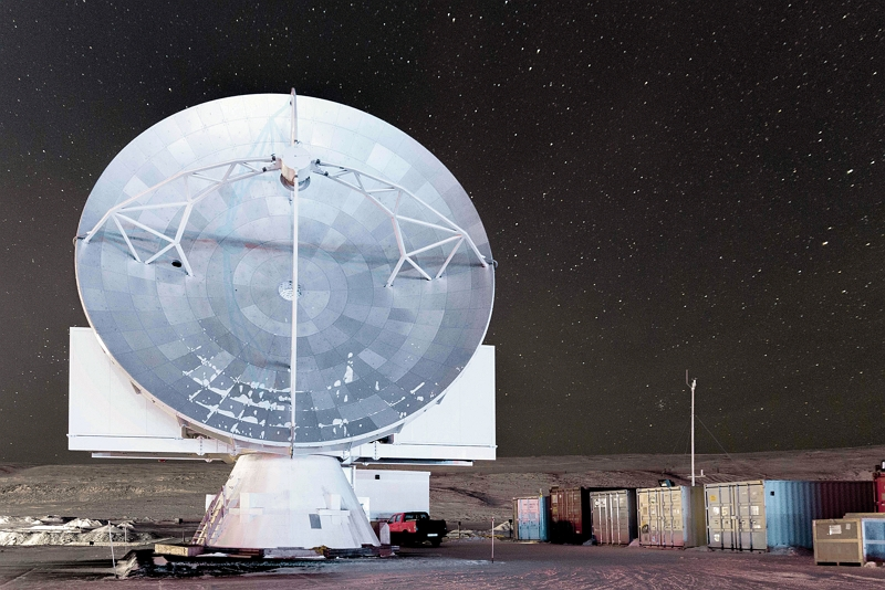 The Greenland Telescope (courtesy of ASIAA)