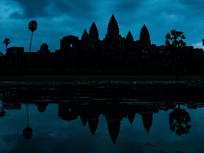 Angkor Wat (photo by Lin Min-hsuan)
