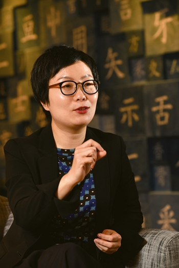 Ting Hsiao-ching is full of optimism for the development of animation in Taiwan and has helped the government become a valued source of backing for creators. (photo by Chuang Kung-ju)