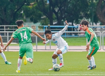 Every team playing in the 2018 Taiwan Cup International Immigrants Soccer Competition had its own strengths, honed by competition. (photo by Lin Min-hsuan)