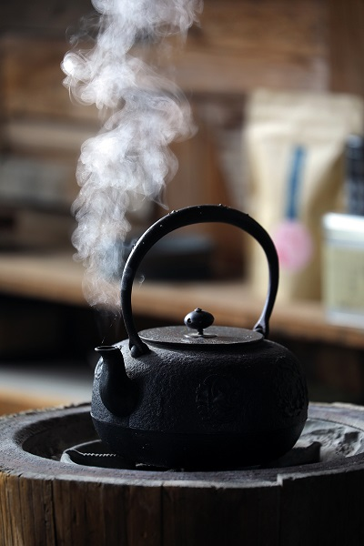 A good cup of tea can connect people with people and people with nature.