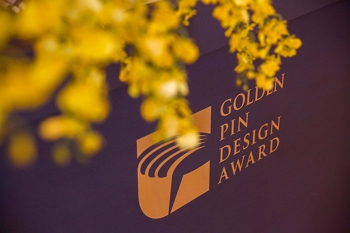 Event design has lifted the design-oriented Golden Pin Awards ceremony to a new level.