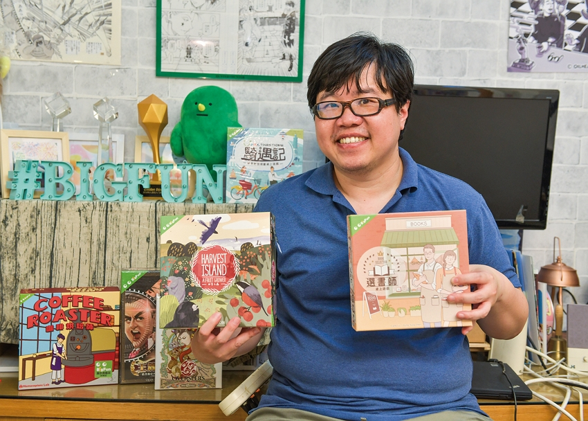Big Fun CEO Slime Yang is particularly skilled at bringing together different industries, which has helped him take the narrative methods of tabletop games and apply them to marketing.