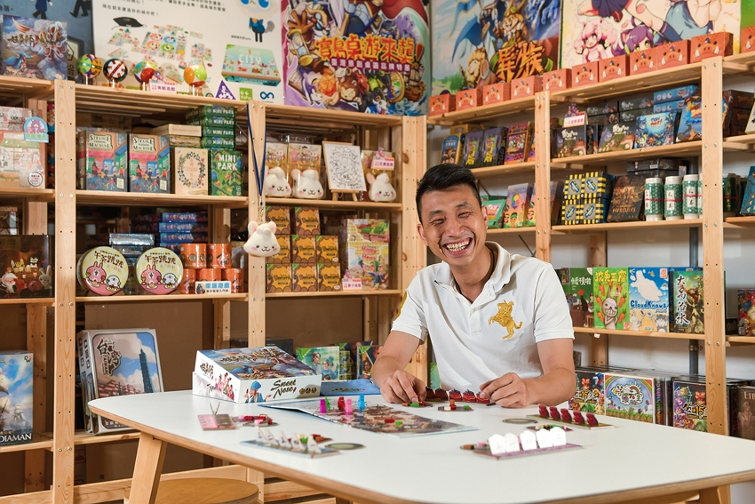 Shin Lin started Baodao as a store dedicated to Taiwanese tabletop games and to promoting their use as a way to create memorable family moments.