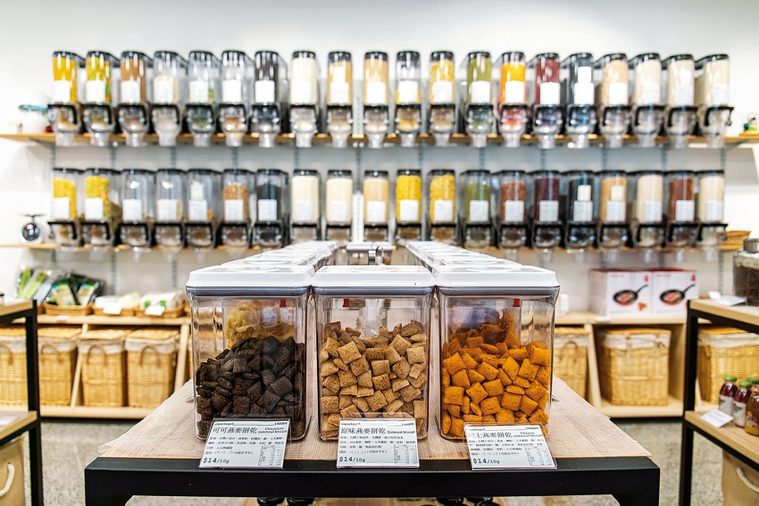 """The """"Unpackaged.U"""" store maintains the spirit of an old-fashioned general store but has a rigorous approach to quality control in terms of food safety and freshness."""