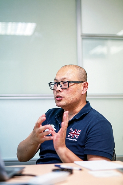 Hyweb's Stan Ma has been working on the TaiwanICDF program for the last 12 years, and has long since internalized its goal of making life better for the people of the Caribbean. (photo by Lin Min-hsuan)