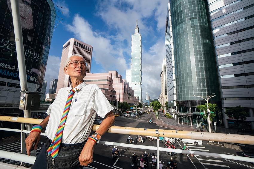 Dayway Chief, Marriage Equality Pioneer (photo by Lin Min-hsuan)