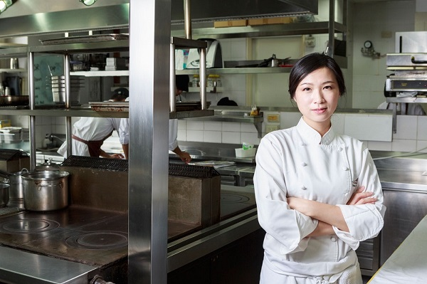 Chen Lanshu, chef proprietor of Le Mout in central Taiwan's Taichung City, is among the famous faces captured by Ferguson.