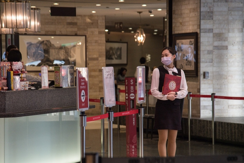 Taiwan's hospitality industry is set for support under a coronavirus-related economic stabilization package unveiled Feb. 13 by the Cabinet. (CNA)