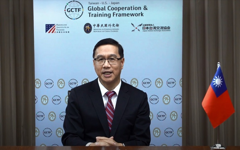 MOFA Vice Minister Miguel Li-jey Tsao announces July 15 that Taiwan, the U.S. and host Guatemala will stage the first GCTF in Latin America and the Caribbean. (MOFA)